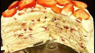 7 LAYER BERRY CAKE- WITHOUT ROLLING OUT DOUGH