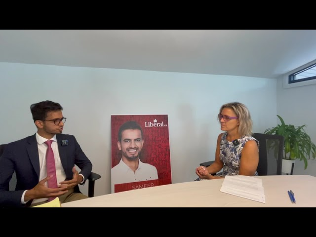 Federal elections interview with Candidate Sameer Zuberi for Dollard-Pierrefonds