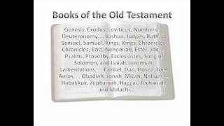 Memorize the 39 Books of the Old Testament Song