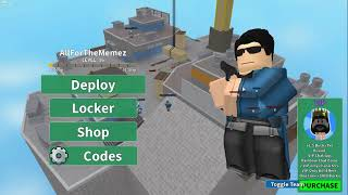 Showing Off The Starter Pack In Arsenal | Roblox
