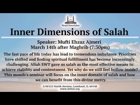 Inner Demensions of Salah