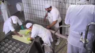 FRIGOJOLLINOX s.r.l. impianti per latte: P600 e vasca stampi e stufatura formaggi.