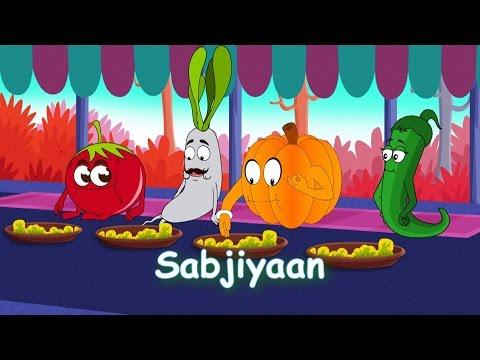 Sabjiyaan - Vegetable Rhymes in Hindi | Hindi Balgeet | Hindi Rhymes For Children | Hindi Poem