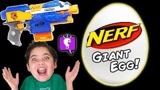 NERF Surprise EGG Toys Compilation Show by HobbyKidsTV
