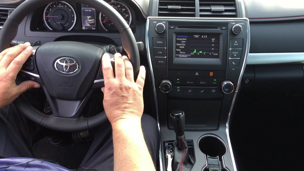 2015 Toyota Camry SE Presented By Tom Donalson At Marietta Toyota   YouTube