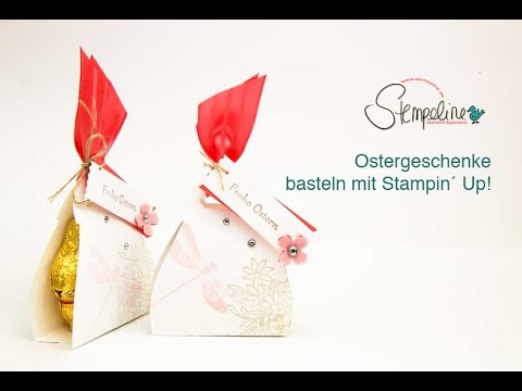 kleine ostergeschenke basteln mit stampin up youtube. Black Bedroom Furniture Sets. Home Design Ideas