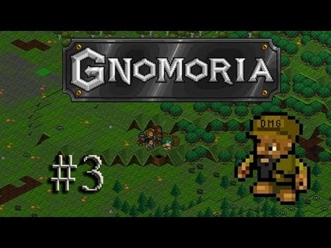Let's play Gnomoria #3 - The royal straw bed