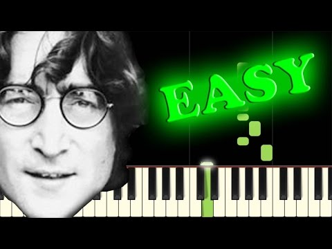 THE BEATLES - ALL YOU NEED IS LOVE - Easy Piano Tutorial