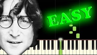 the beatles all you need is love easy piano tutorial