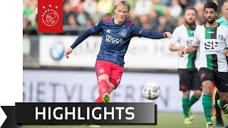 Highlights Scheveningen - Ajax