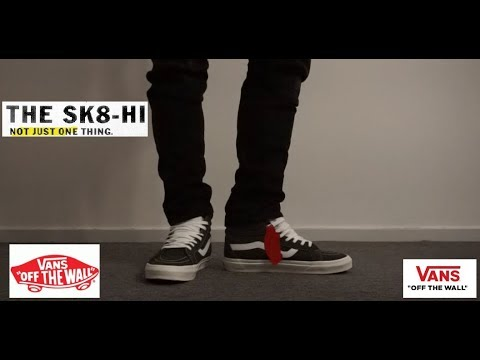 f5c4f830a3cf4e Vans Retro Sport Sk8-Hi Reissue 2017  on feet   review - YouTube