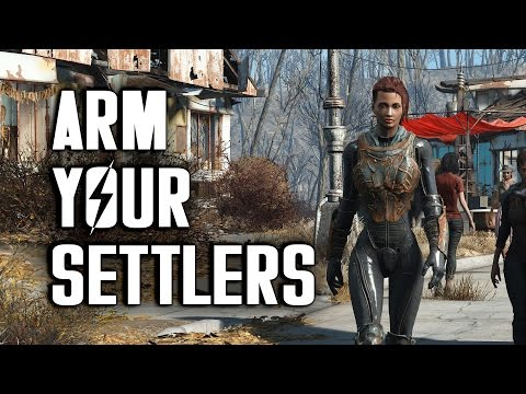 How to Arm Your Settlers - Fallout 4