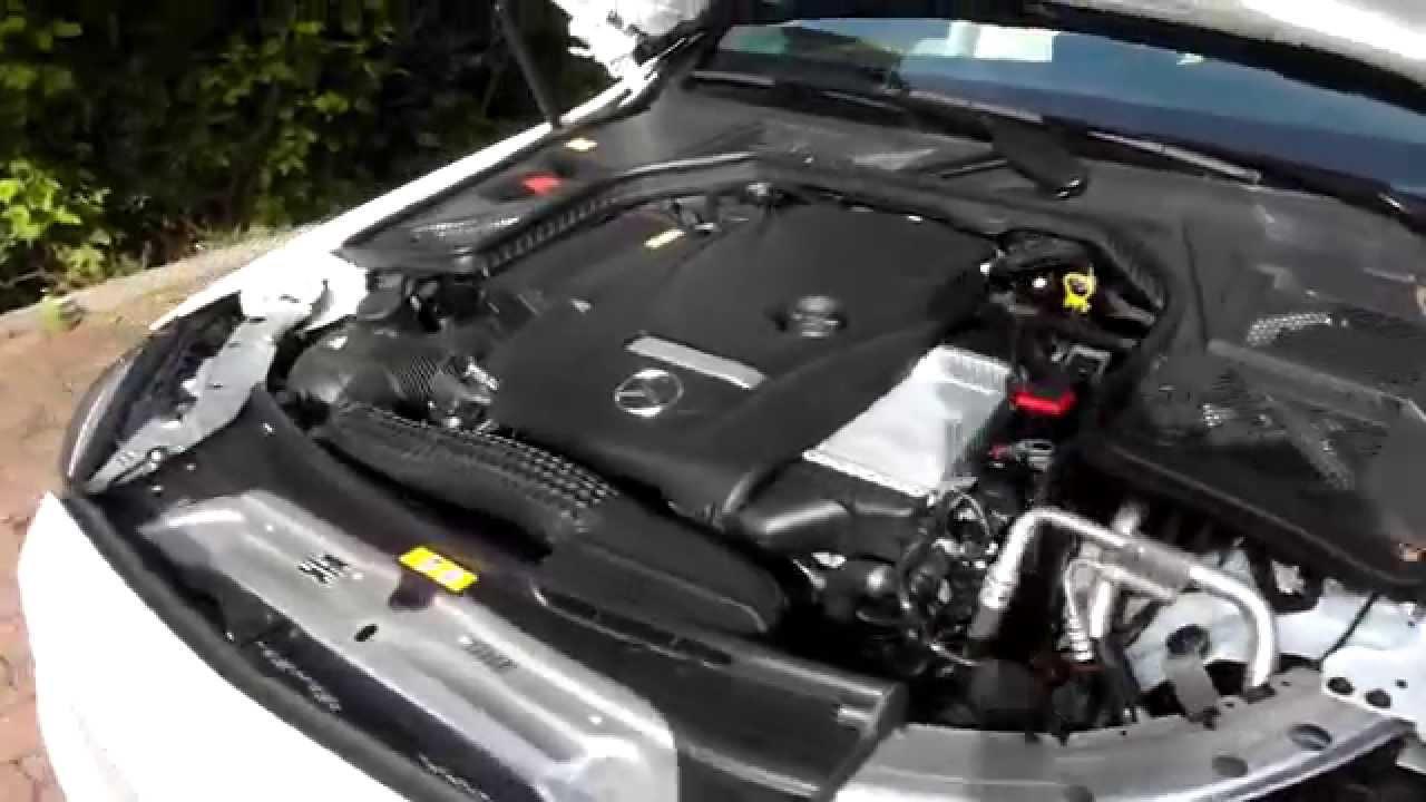 Mercedes Benz C200 C Class W205 Engine How Quiet Cabin