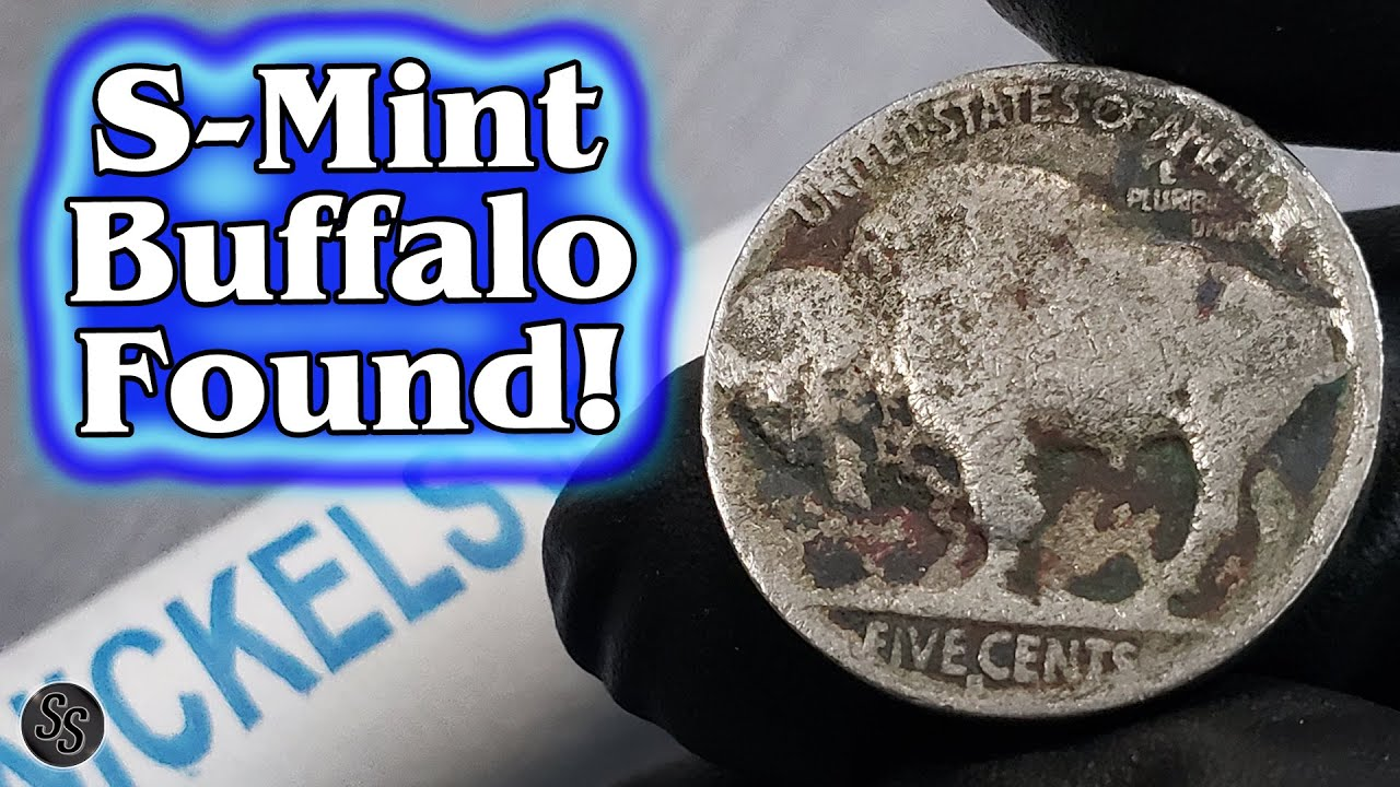 Coin Roll Hunt Nickels - S Mint Buffalo Found!