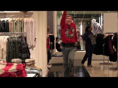Dancing With An iPod In Public - Christmas Edition