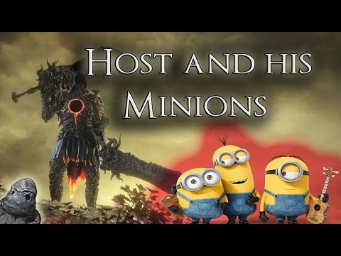 Host and his Minions - Dark Souls 3