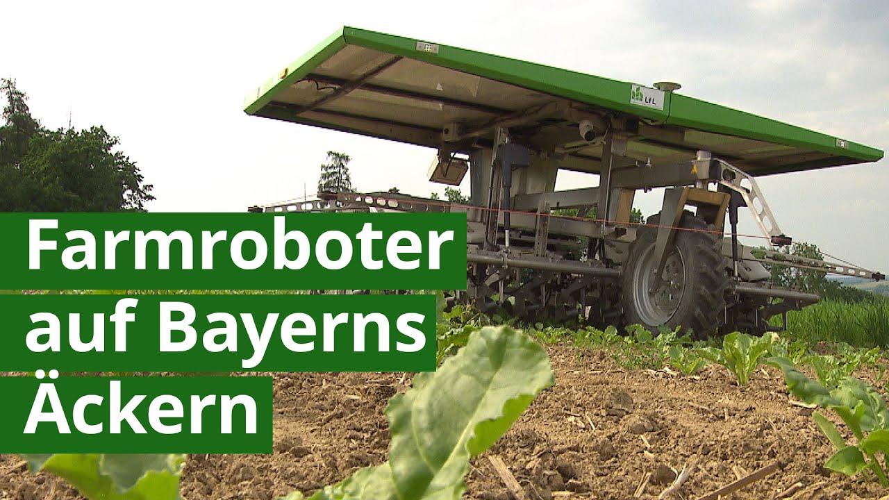 Digital Farming in Bayern - können Farmroboter die Landwirte sinnvoll unterstützen?  | Unser Land