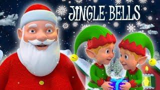 джингл колокола по-английски | детские стишки для детей | Jingle Bells in English