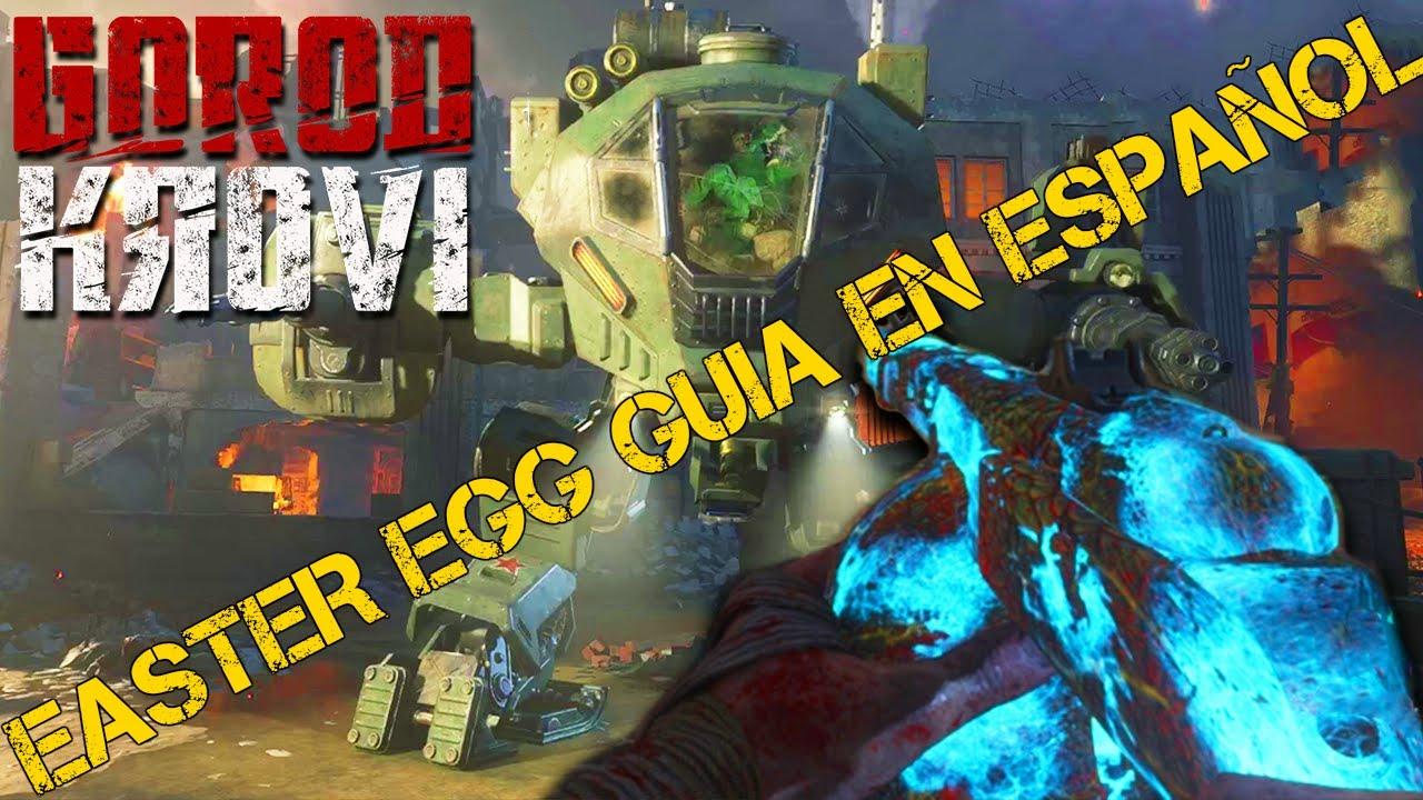 Easter Egg Gorod Krovi en Español - YouTube