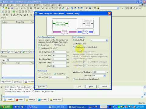 Xilinx ISE Simulation and WebPAC Tutorial for schematic on