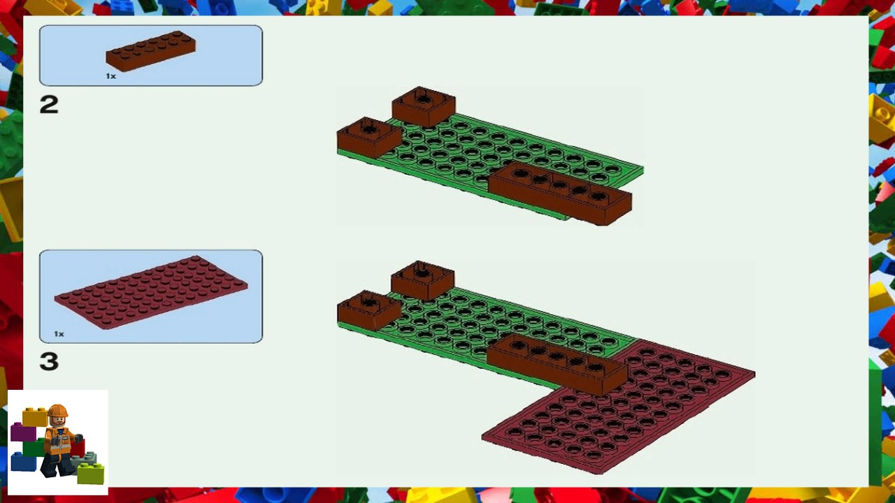LEGO Instructions - Minecraft - 21143 - The Nether Portal (Book 1)