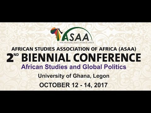 2nd Biennial Conference of the African Studies Association o