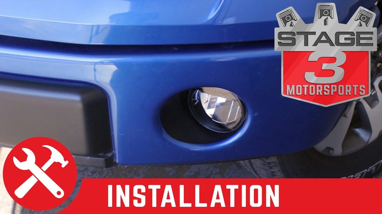 2009-2014 f-150 recon led fog light kit install