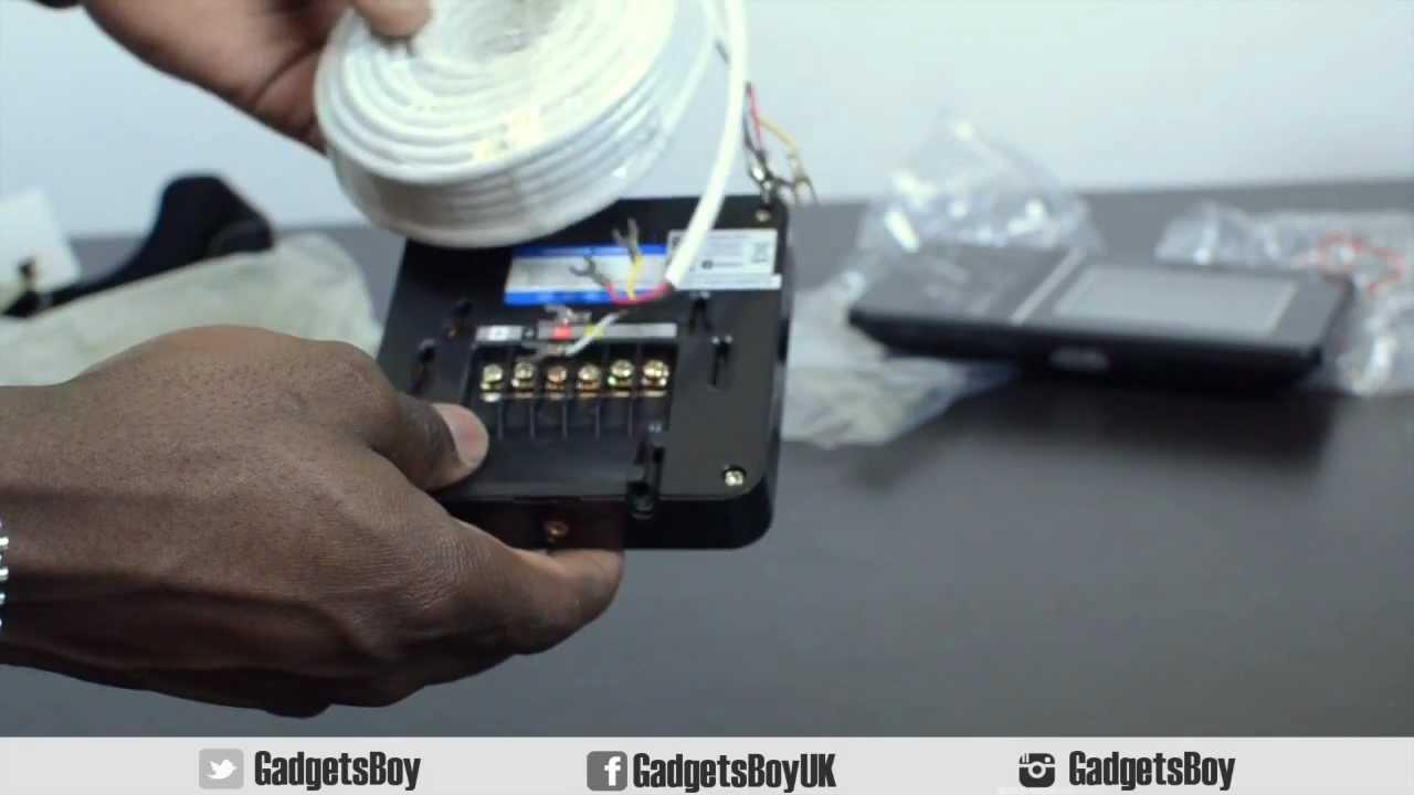 home security swann doorphone video intercom youtube rh youtube com Aiphone Intercom Wiring-Diagram 2Wire Intercom Schematic