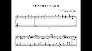 I'll Never Love Again ('A Star Is Born' Soundtrack, Piano cover)