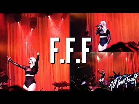 "BEBE REXHA ""F.F.F"" ALL YOUR FAULT TOUR  NGOUN "