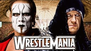 The Undertaker vs Sting Wrestlemania 31 Promo HD (New Edition)