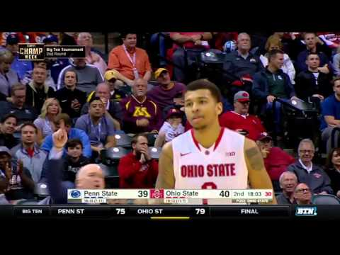 Penn State vs. Ohio State - 2016 Big Ten Men