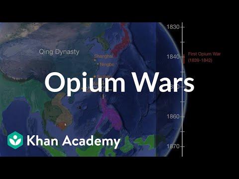 Opium Wars  | World History | Khan Academy