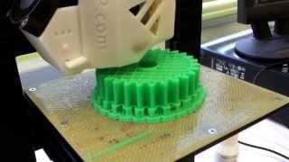 3Dプリンター  ABS樹脂  歯車製作