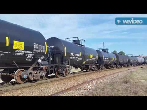 A Day in Hamlet NC ft, Rock,  Grain,  Freight,  Intermodal, Coal,  Etc...