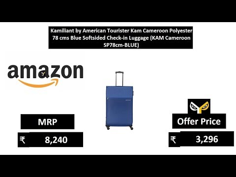 Kamiliant by American Tourister Kam Cameroon Polyester 78 cms