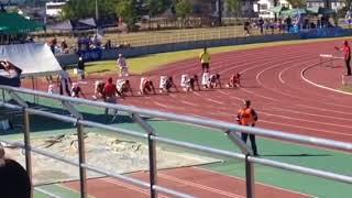 会津若松市小学生陸上競技大会100m決勝