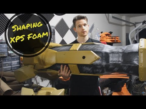 Forming Rigid XPS Foam for Large Cosplay Props