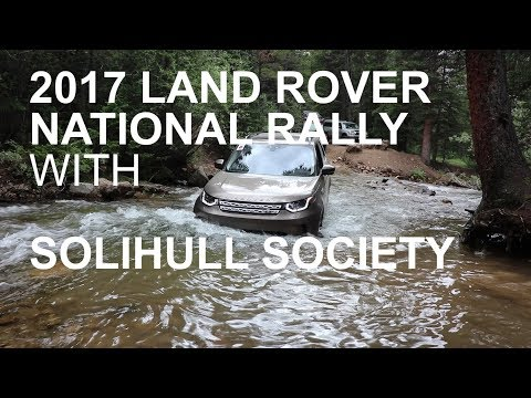 LAND ROVER NATIONAL RALLY 2017