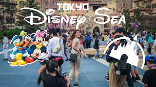 FIRST TIME IN TOKYO DISNEY SEA |FOOD & RIDES!!