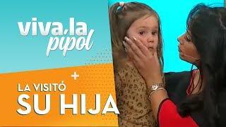 Hija menor de Pamela Díaz sorprendió con inesperada aparición en estudio de Viva la Pipol