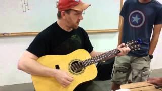Bill Sterling Guitar Building Class - Success!
