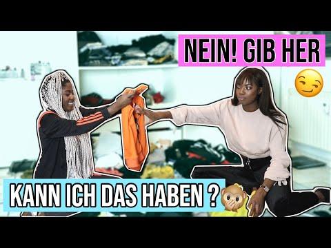 SCHWESTER will meine Klamotten 😳| Kleiderschrank ausmisten LIVE und ihr ENTSCHEIDET mit 😱| Abigail