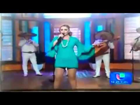 patricia navidad menstrual pad falls out during Live TV show