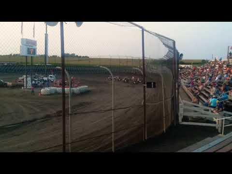 Ryan Robinson Flip  Macon Speedway