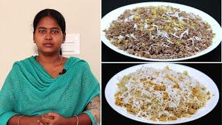அரிசி மாவு இல்லாமலே இதுபோல 2 விதமான புட்டு செஞ்சி பாருங்க | Snacks Recipes in Tamil