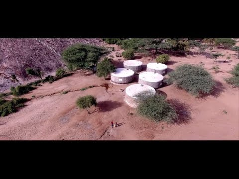 Harvesting Rainwater With Rock Catchments In Kenya Youtube