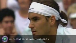 Sampras v Federer (2001 Men's 4th Round) - Rolex Wimbledon Golden Moments