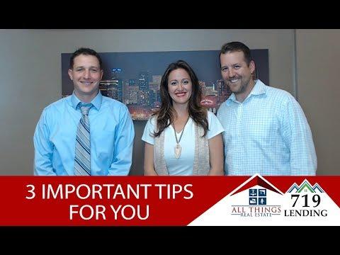 Colorado Springs Real Estate: 3 Buyer Tips