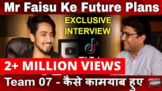 #mrfaisu07 #trendingvideo #team07interview #faisusquad #team07 contact joinfilms - 8433666618 [ 11 am- 7pm] mr. faisu is a popular tik tok superstar on the m...